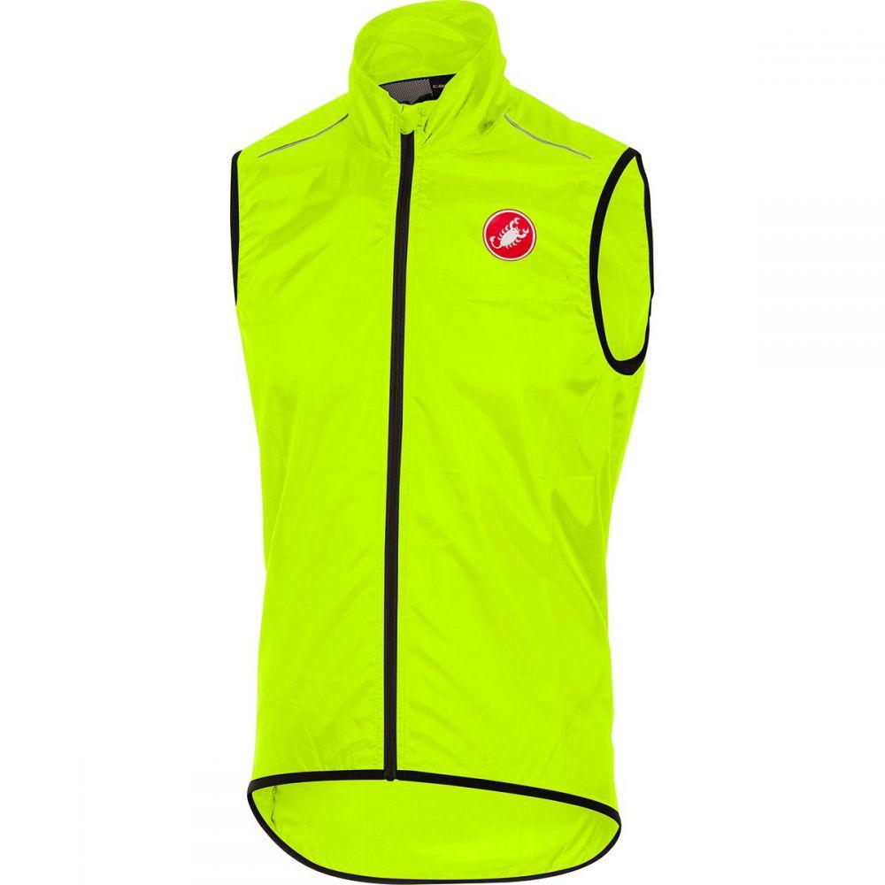 カステリ Castelli メンズ 自転車 ベスト・ジレ トップス【squadra vest】Yellow Fluo