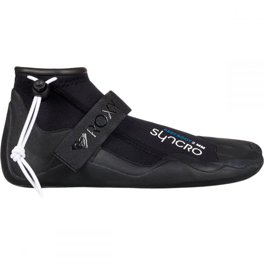 ロキシー Roxy レディース サーフィン ブーツ シューズ・靴【syncro 2.0mm reef round toe boot】True Black