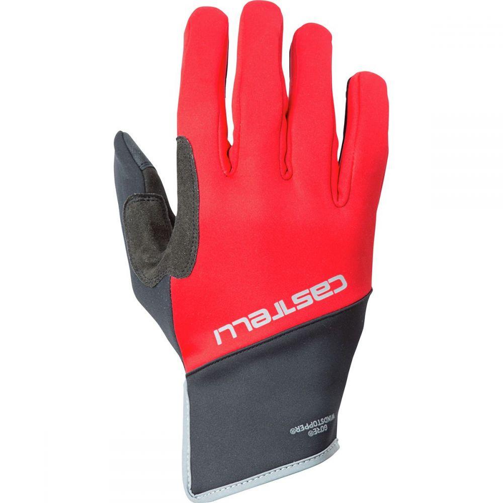 カステリ Castelli メンズ 自転車 グローブ【scalda pro gloves】Red/Black