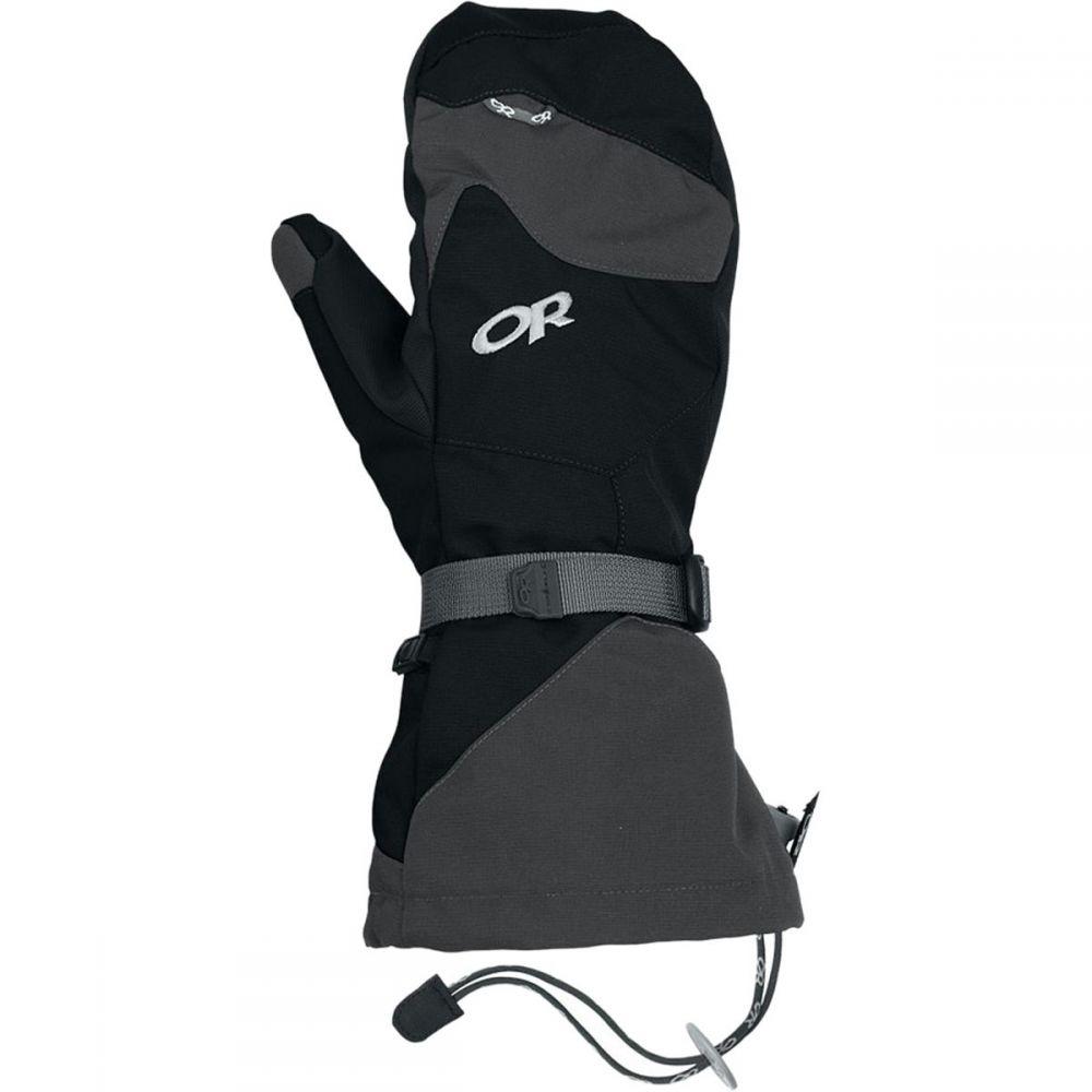 アウトドアリサーチ Outdoor Research メンズ 手袋・グローブ 【meteor mittens】Black/Charcoal