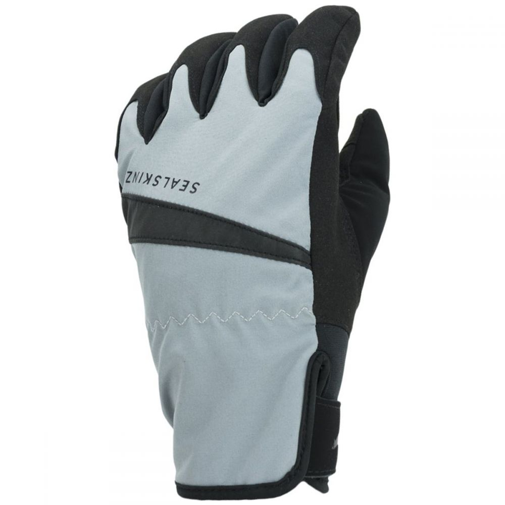 シールスキンズ SealSkinz レディース 自転車 グローブ【waterproof all weather cycle glove】Grey/Black