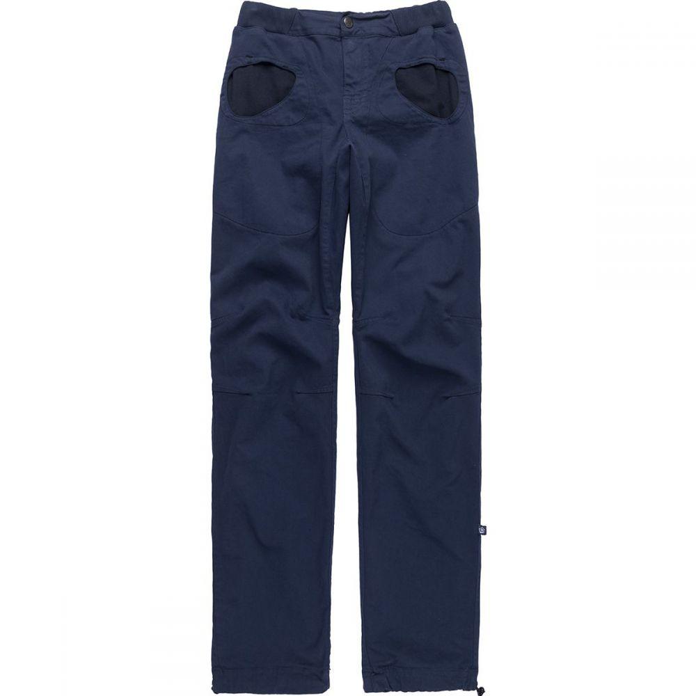 E9 メンズ ハイキング・登山 スキニー・スリム ボトムス・パンツ【rondo slim pant】Blue Navy