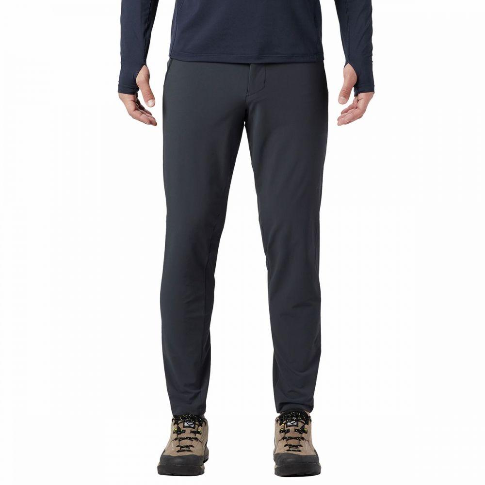 マウンテンハードウェア Mountain Hardwear メンズ ハイキング・登山 ボトムス・パンツ【chockstone pull - on pant】Dark Storm