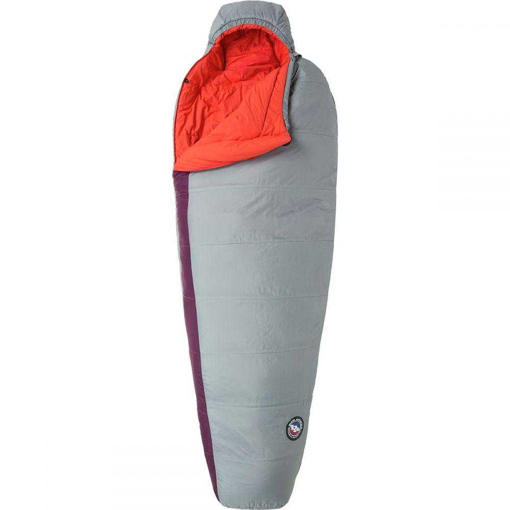 ビッグアグネス Big Agnes レディース ハイキング・登山 【elsie sleeping bag: 15 degree synthetic】Gray/Paprika