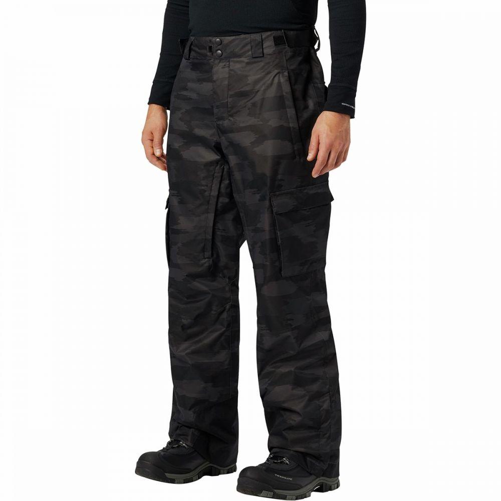コロンビア Columbia メンズ スキー・スノーボード ボトムス・パンツ【ridge 2 run iii pant】Black Brushed Camo Print