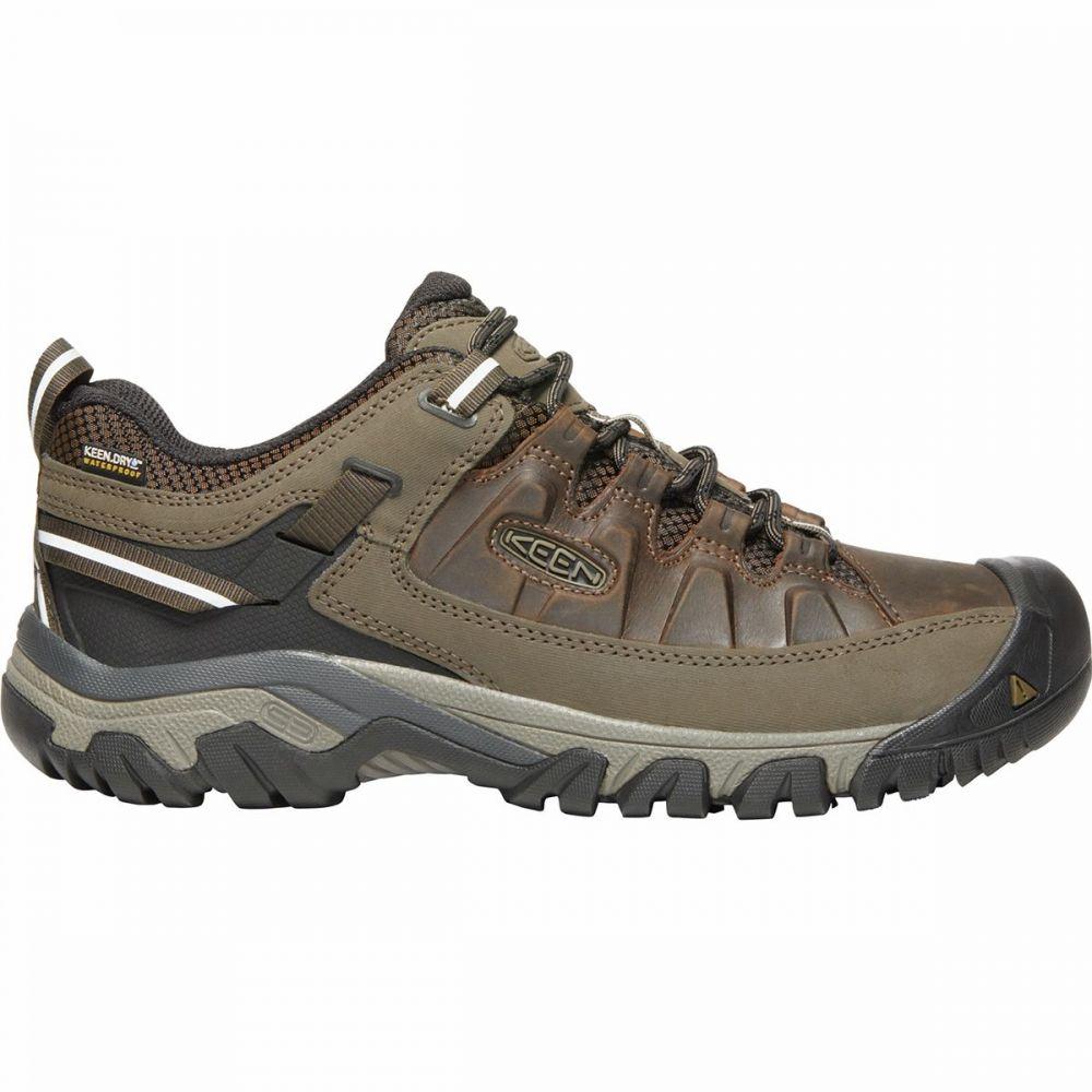 キーン KEEN メンズ ハイキング・登山 シューズ・靴【targhee iii waterproof leather hiking shoes】Canteen/Mulch
