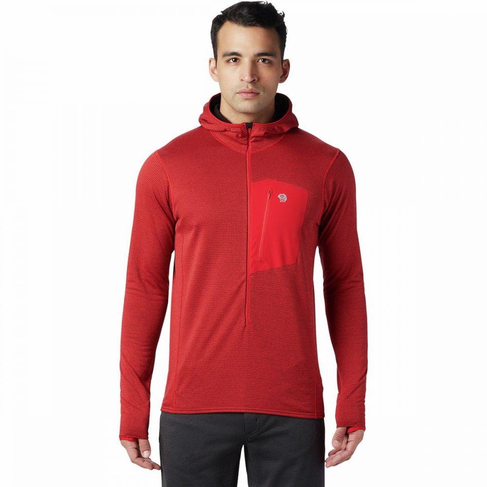 マウンテンハードウェア Mountain Hardwear メンズ フリース トップス【type 2 fun 3/4 - zip hooded jacket】Racer