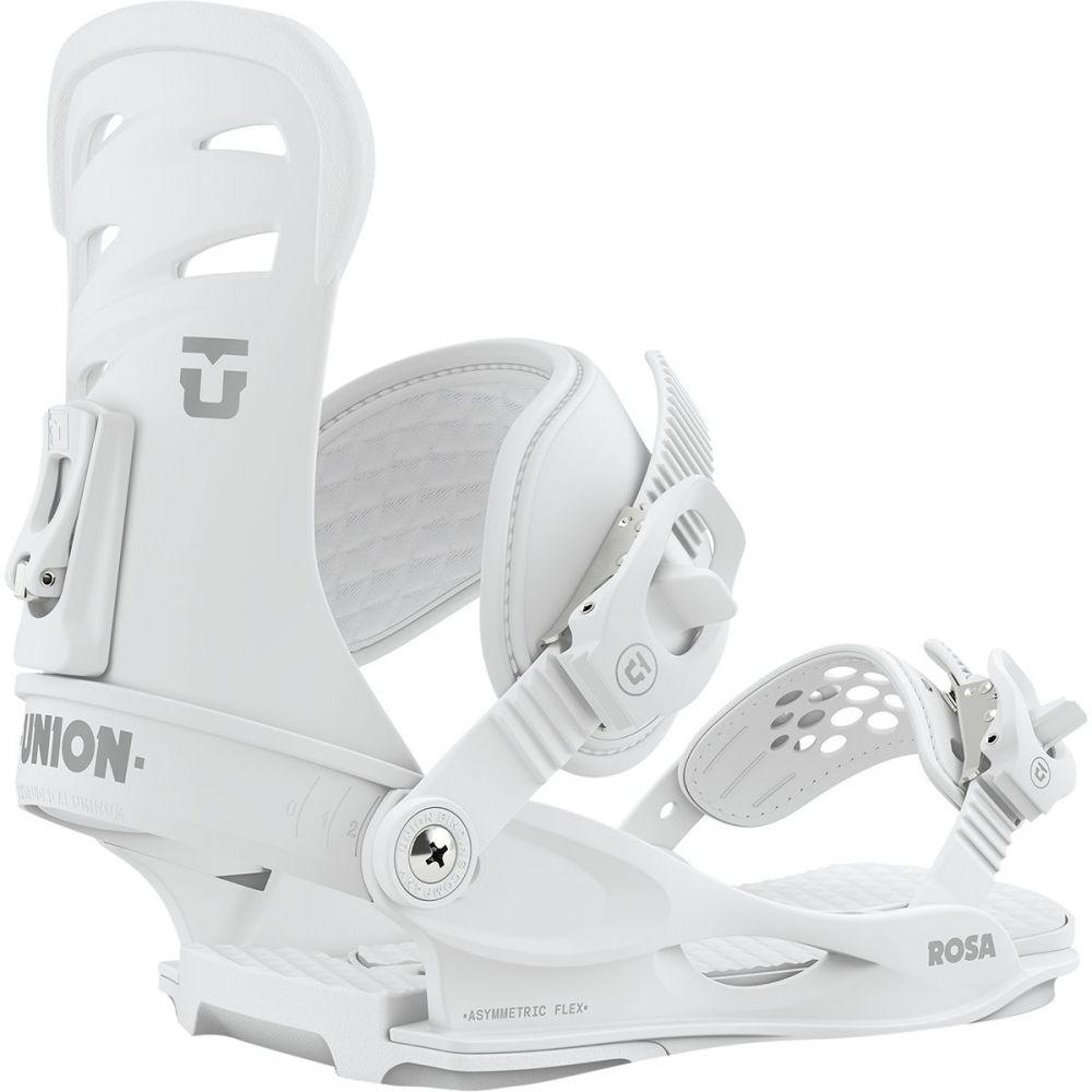 ユニオン Union レディース スキー・スノーボード ビンディング【rosa snowboard binding】White