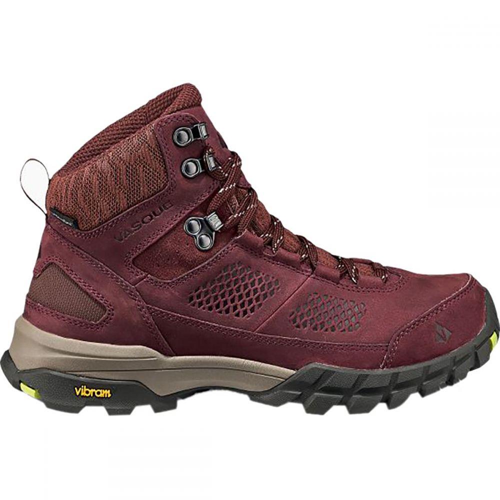 バスク Vasque レディース ハイキング・登山 ブーツ シューズ・靴【talus at ultradry hiking boot】Rum Raisin/Green Glow