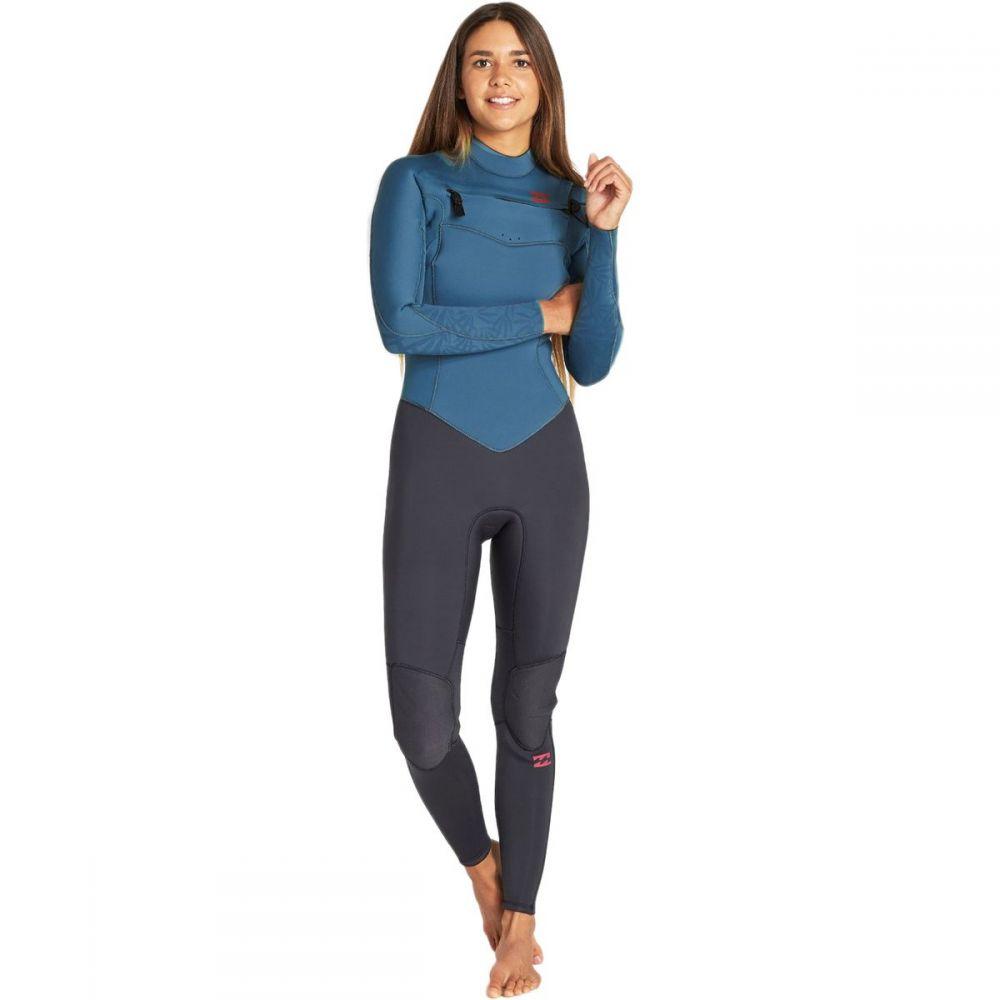 ビラボン Billabong レディース ウェットスーツ 水着・ビーチウェア【3/2mm furnace synergy chest - zip gbs wetsuit】Black Marine