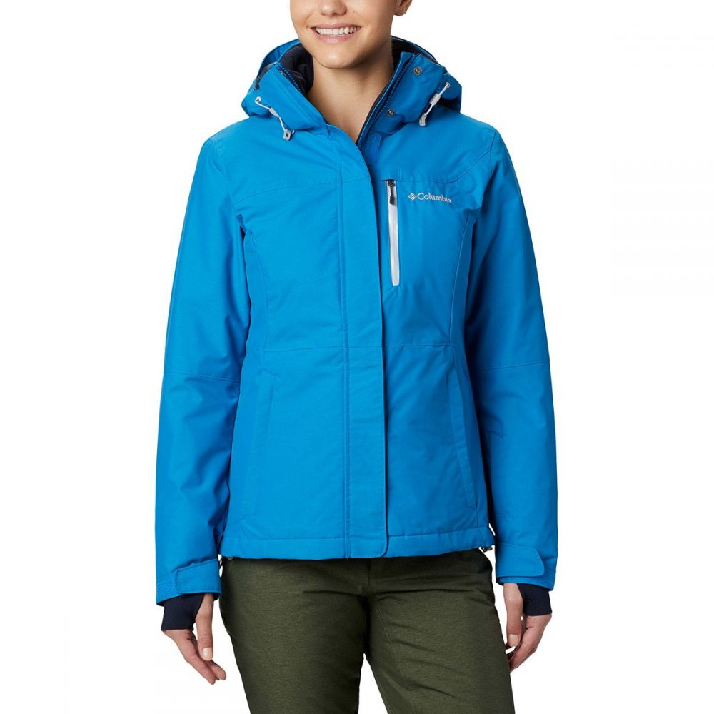 コロンビア Columbia レディース スキー・スノーボード ジャケット アウター【alpine action omni - heat hooded jacket】Fathom Blue