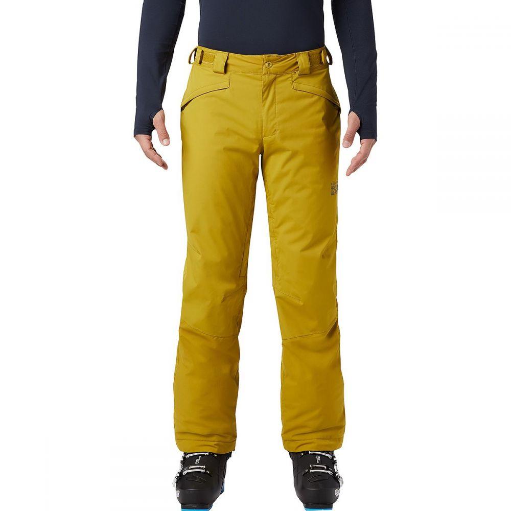 マウンテンハードウェア Mountain Hardwear メンズ スキー・スノーボード ボトムス・パンツ【firefall 2 insulated pant】Dark Citron