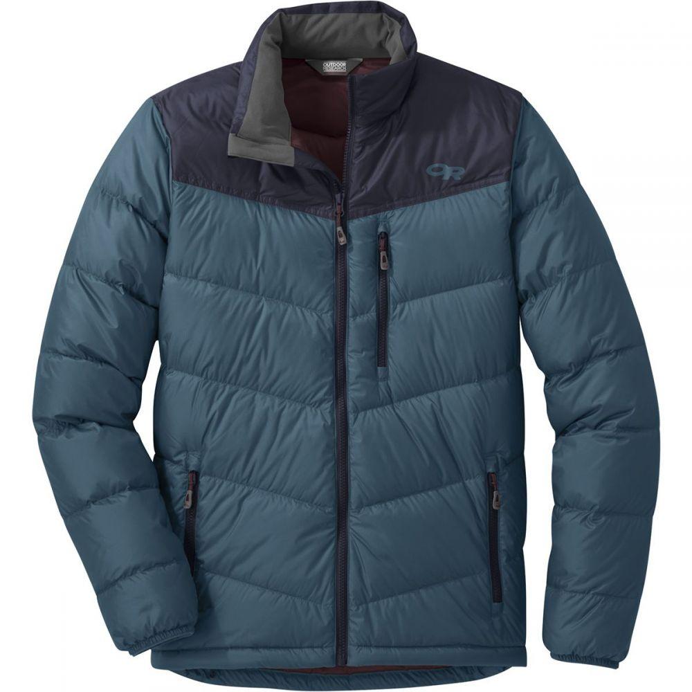 アウトドアリサーチ Outdoor Research メンズ ダウン・中綿ジャケット アウター【transcendent down jacket】Prussian Blue/Ink