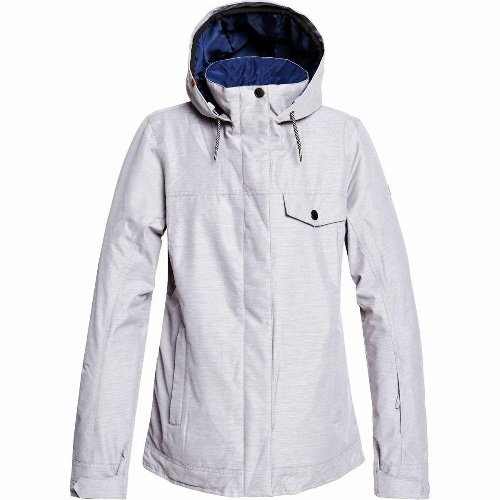 ロキシー Roxy レディース スキー・スノーボード ジャケット アウター【billie hooded insulated jacket】Heather Grey