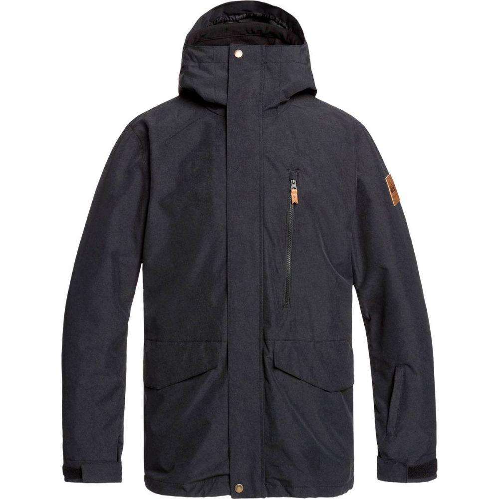 クイックシルバー Quiksilver メンズ スキー・スノーボード ジャケット アウター【mission 3 - in - 1 jacket】Black