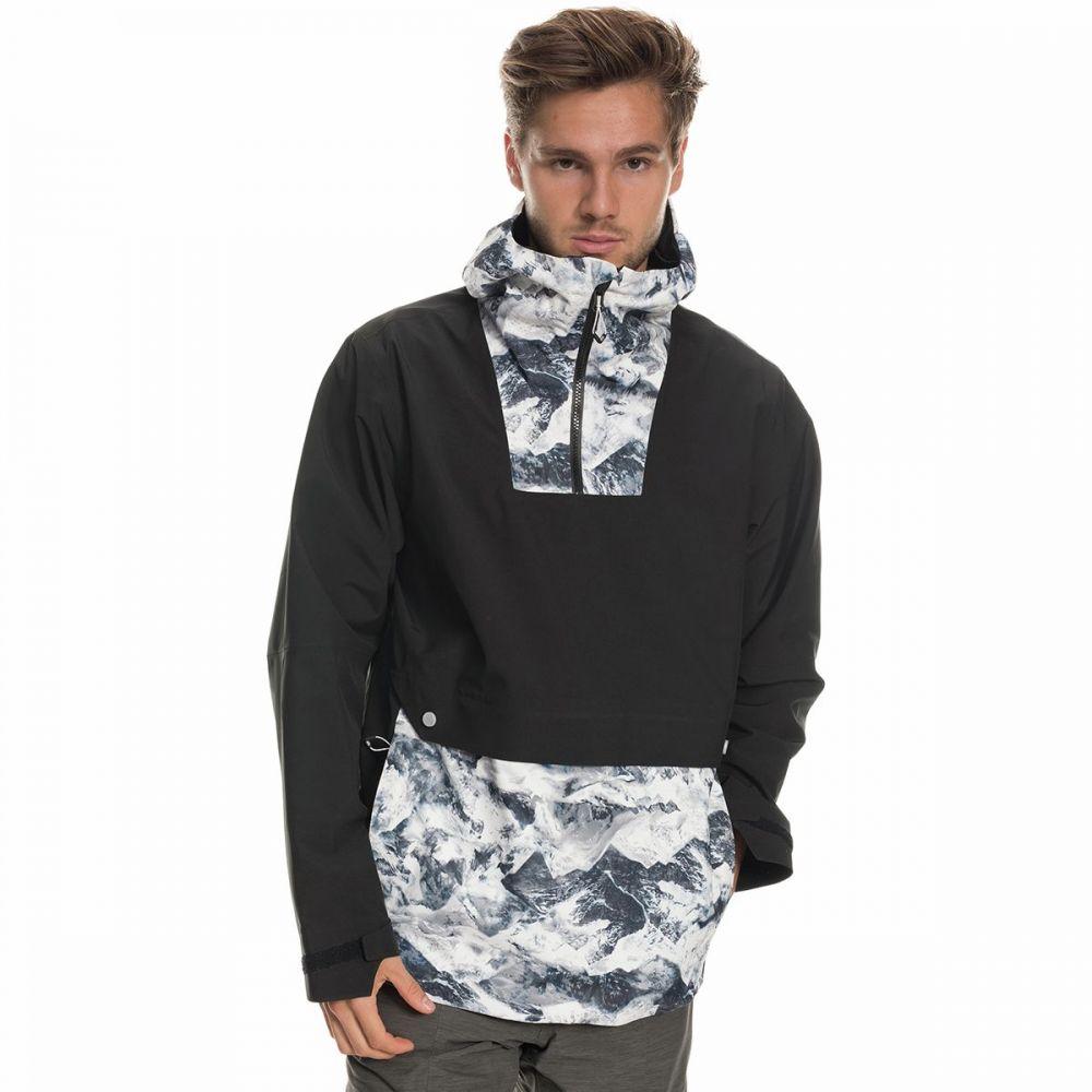 シックス エイト シックス 686 メンズ スキー・スノーボード アノラック ジャケット アウター【glcr landscape anorak jacket】White Alps Colorblock