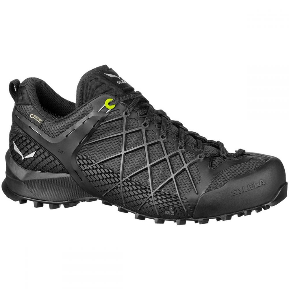 サレワ Salewa メンズ ハイキング・登山 シューズ・靴【wildfire gtx hiking shoes】Black Out/Silver