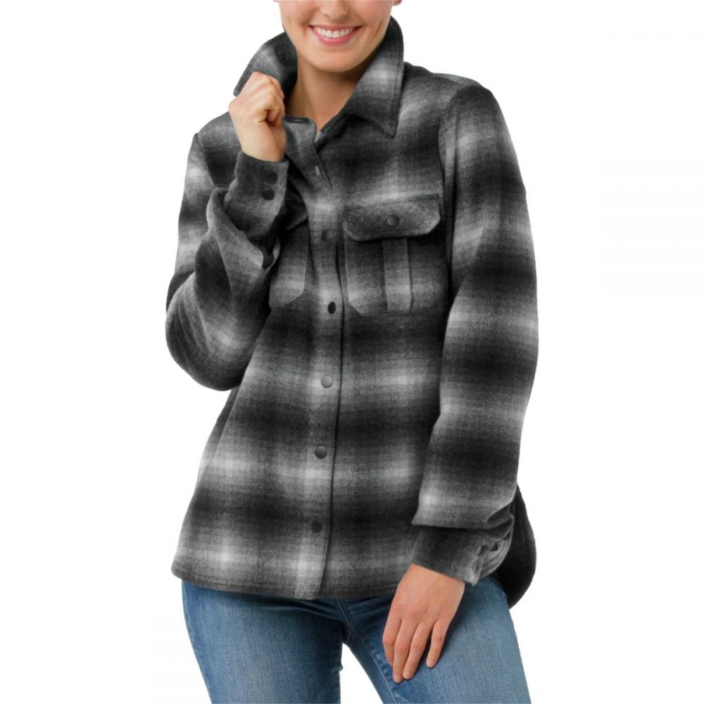 スマートウール Smartwool レディース ジャケット シャツジャケット アウター【anchor line shirt jacket】Medium Gray