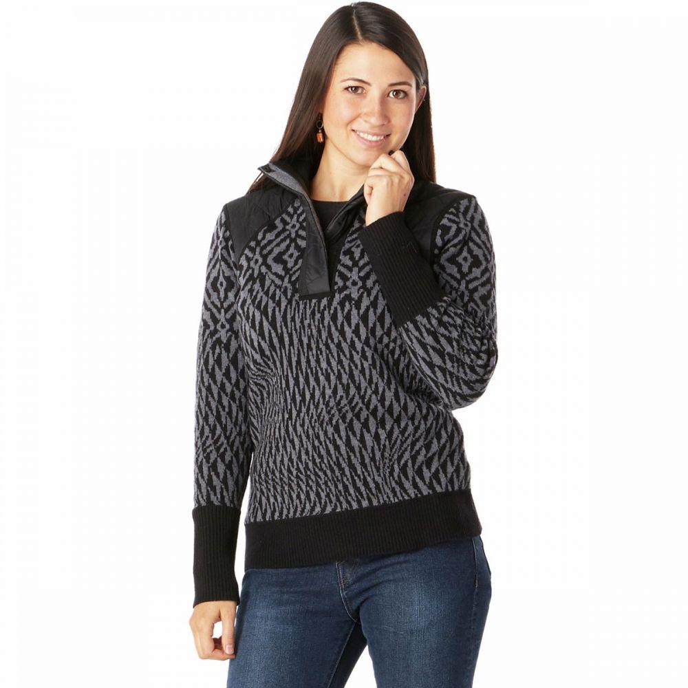 ninja sweater】Black ニット・セーター スマートウール レディース pullover スキー・スノーボード Smartwool トップス【ski