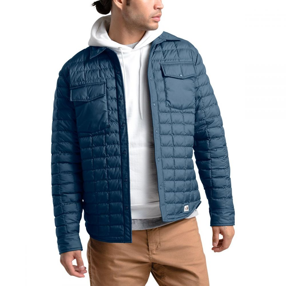 ザ ノースフェイス The North Face メンズ ジャケット アウター【thermoball eco snap insulated jacket】Shady Blue