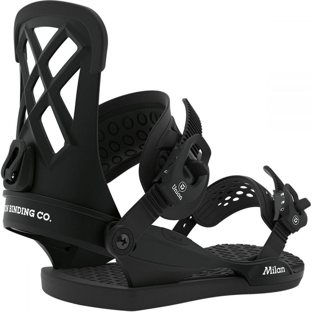 ユニオン Union レディース スキー・スノーボード ビンディング【milan snowboard binding】Black