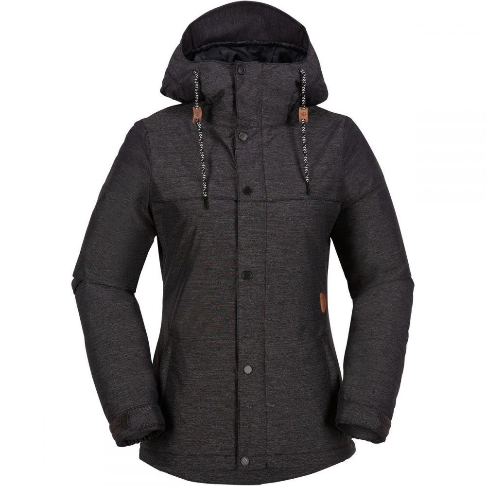 ボルコム Volcom レディース スキー・スノーボード ジャケット アウター【bolt insulated jacket】Black