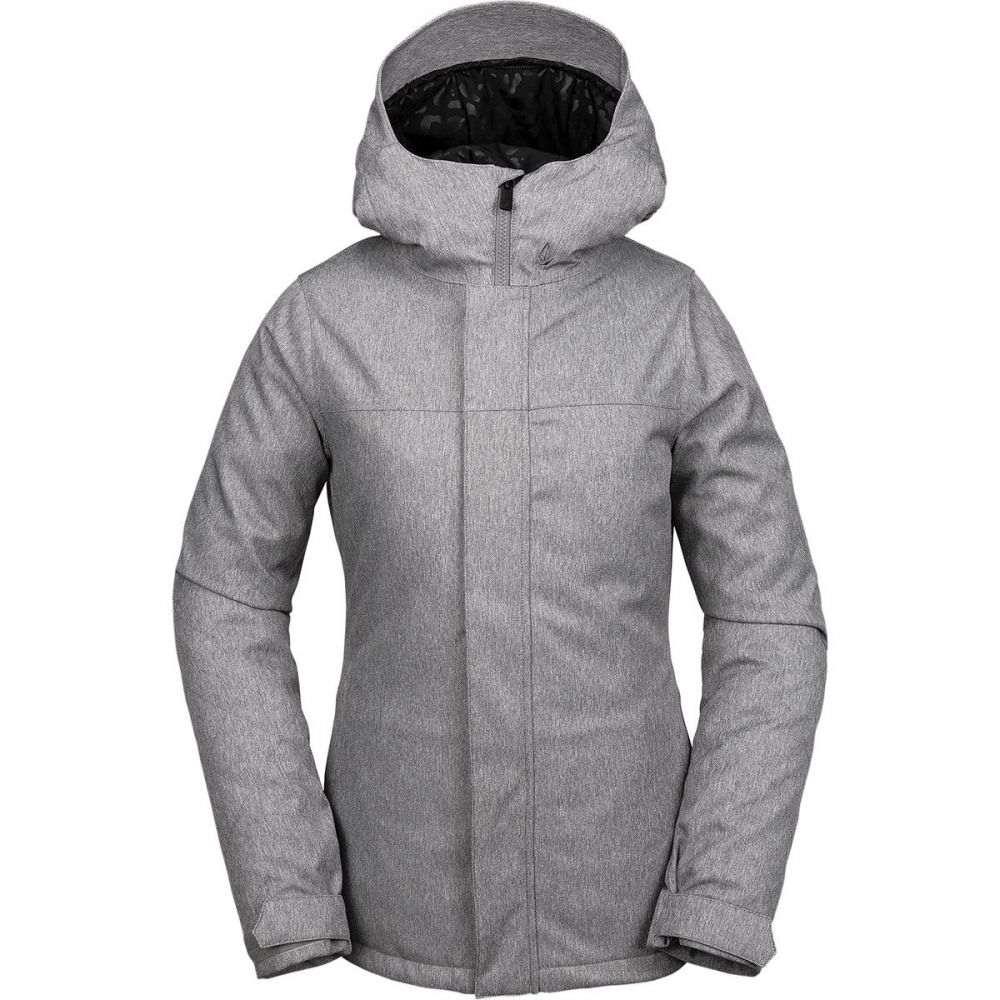 ボルコム Volcom レディース スキー・スノーボード ジャケット アウター【bolt insulated jacket】Heather Grey