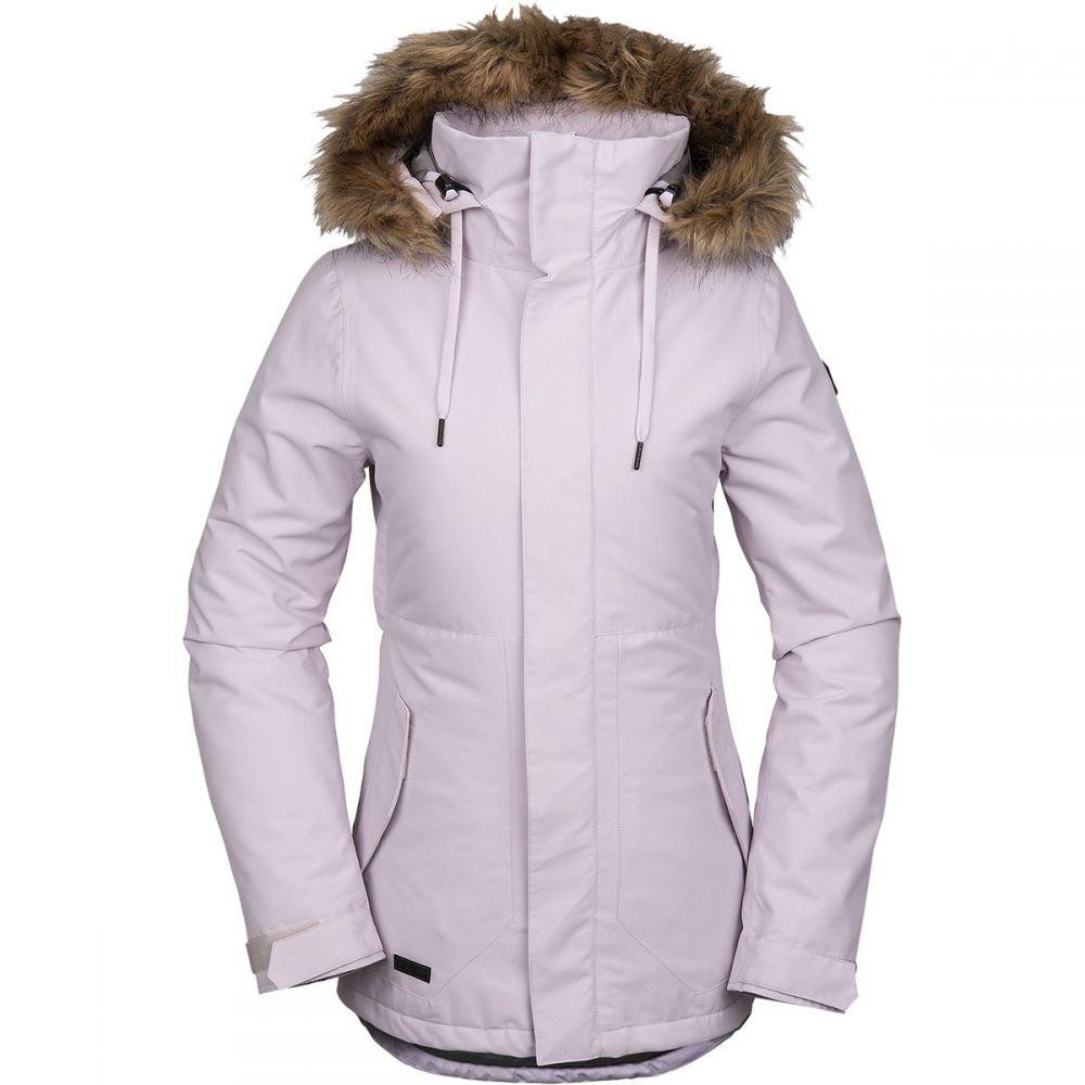 ボルコム Volcom レディース スキー・スノーボード ジャケット アウター【fawn insulated jacket】Violet Ice
