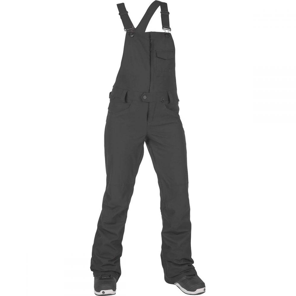 ボルコム Volcom レディース スキー・スノーボード ビブパンツ ボトムス・パンツ【swift bib overall pant】Black