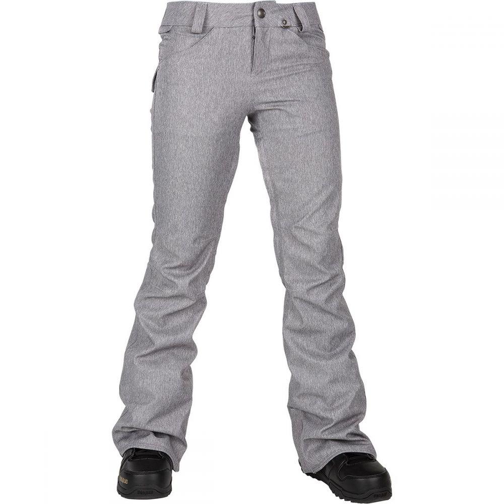 ボルコム Volcom レディース スキー・スノーボード ボトムス・パンツ【species stretch pant】Heather Grey