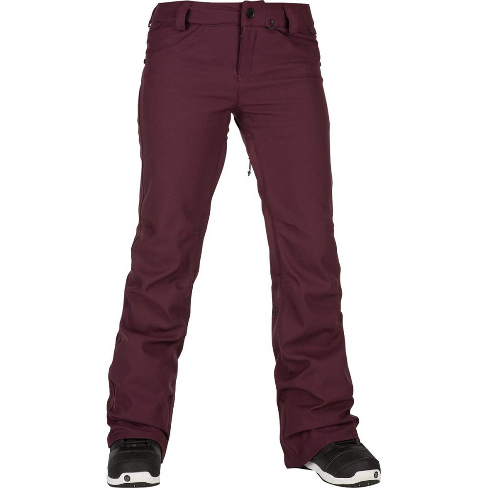 ボルコム Volcom レディース スキー・スノーボード ボトムス・パンツ【species stretch pant】Merlot
