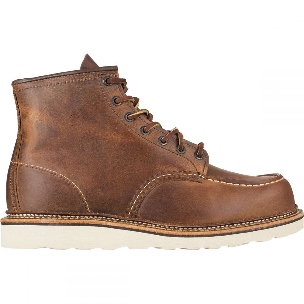 レッドウィング Red Wing Heritage メンズ ブーツ シューズ・靴【classic moc 6in boots】Copper Rough/Tough Leather