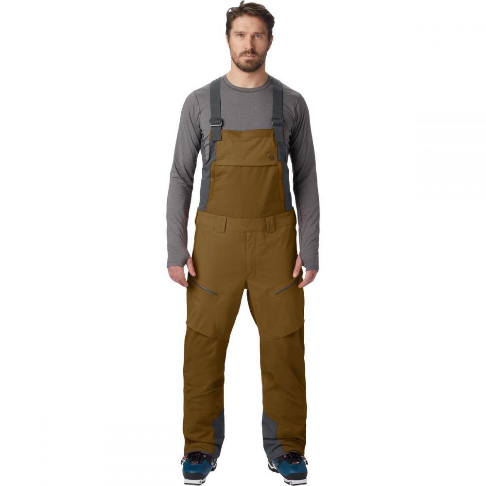 マウンテンハードウェア Mountain Hardwear メンズ スキー・スノーボード ビブパンツ ボトムス・パンツ【firefall bib pant】Golden Brown