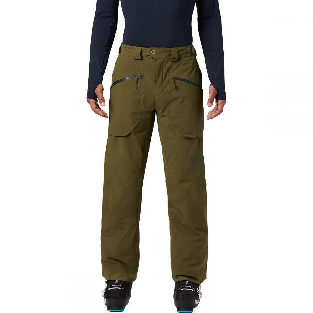マウンテンハードウェア Mountain Hardwear メンズ スキー・スノーボード ボトムス・パンツ【cloud bank gtx insulated pant】Combat Green