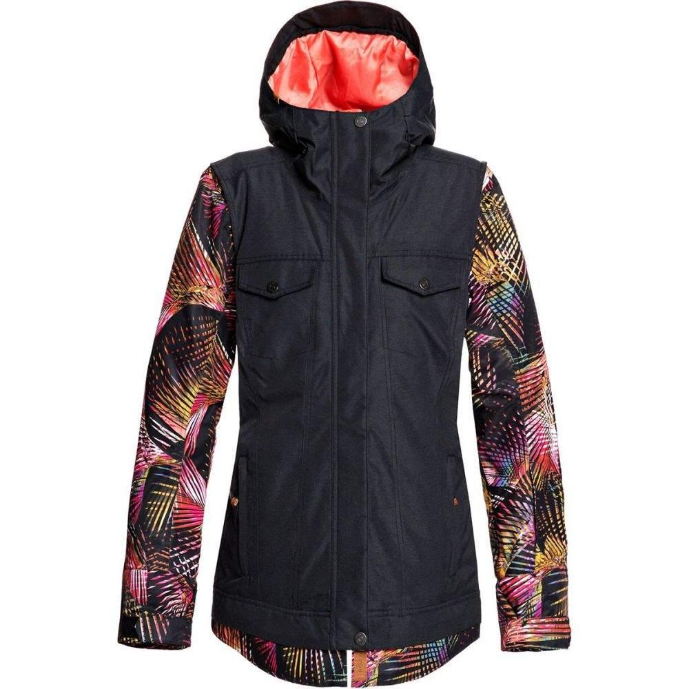 ロキシー Roxy レディース スキー・スノーボード ジャケット アウター【ceder hooded jacket】True Black Night Palm