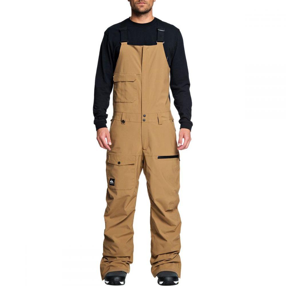 クイックシルバー Quiksilver メンズ スキー・スノーボード ビブパンツ ボトムス・パンツ【utility bib pant】Otter