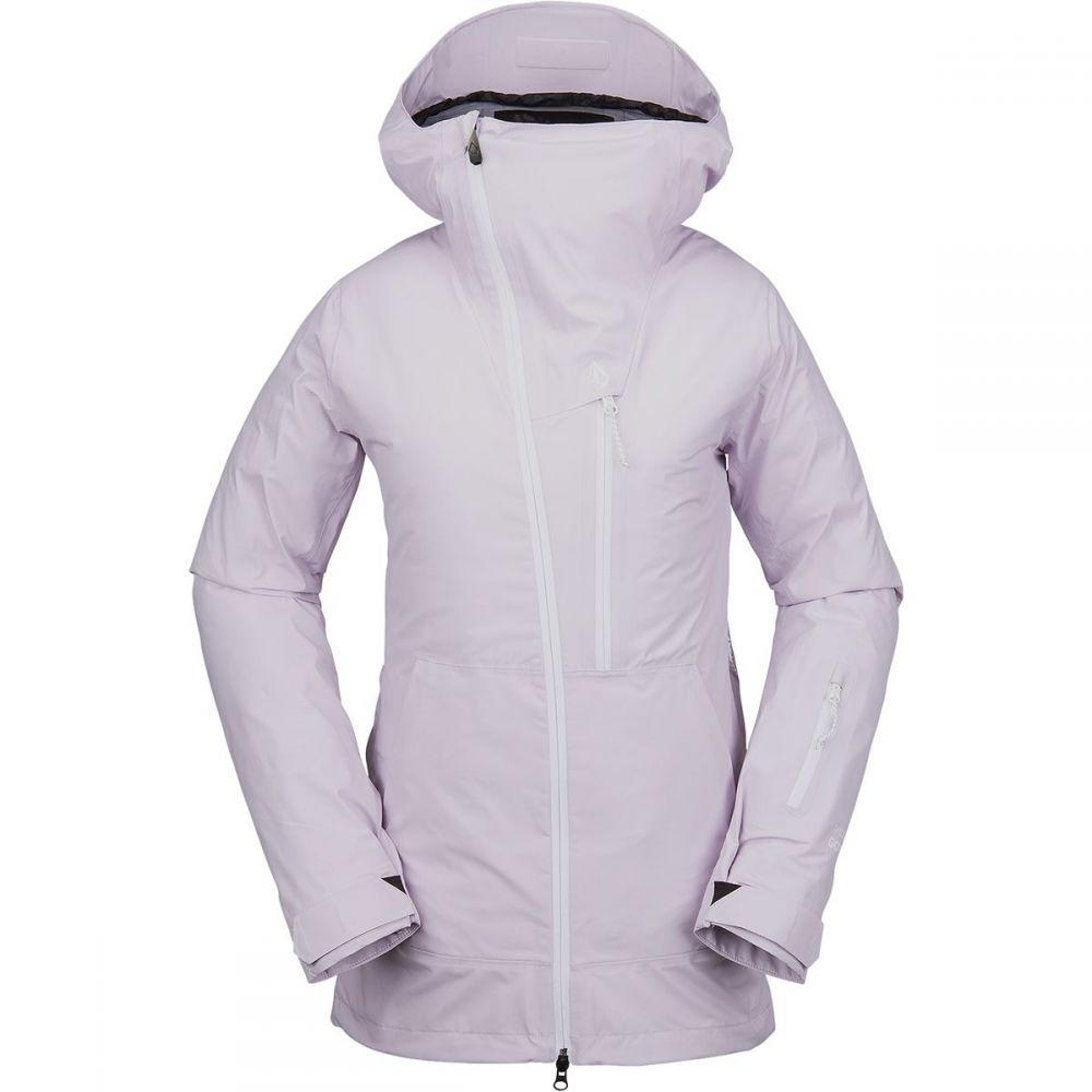 ボルコム Volcom レディース スキー・スノーボード ジャケット アウター【nya tds gore - tex jacket】Violet Ice