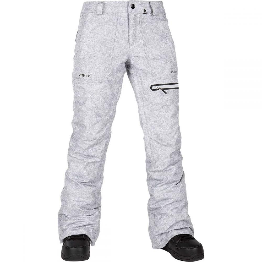 ボルコム Volcom レディース スキー・スノーボード ボトムス・パンツ【knox insulated gore pant】Heather Grey