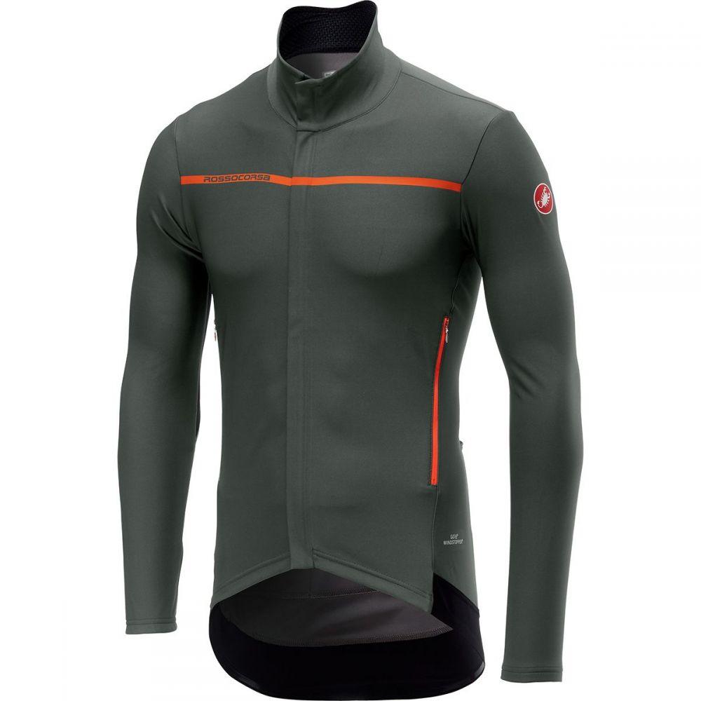 カステリ Castelli メンズ 自転車 トップス【perfetto long - sleeve jersey】Forest Gray