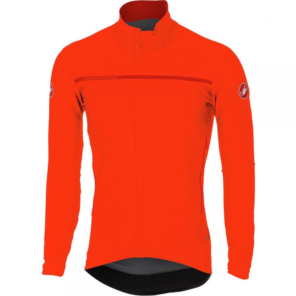 カステリ Castelli メンズ 自転車 トップス【perfetto long - sleeve jersey】Orange