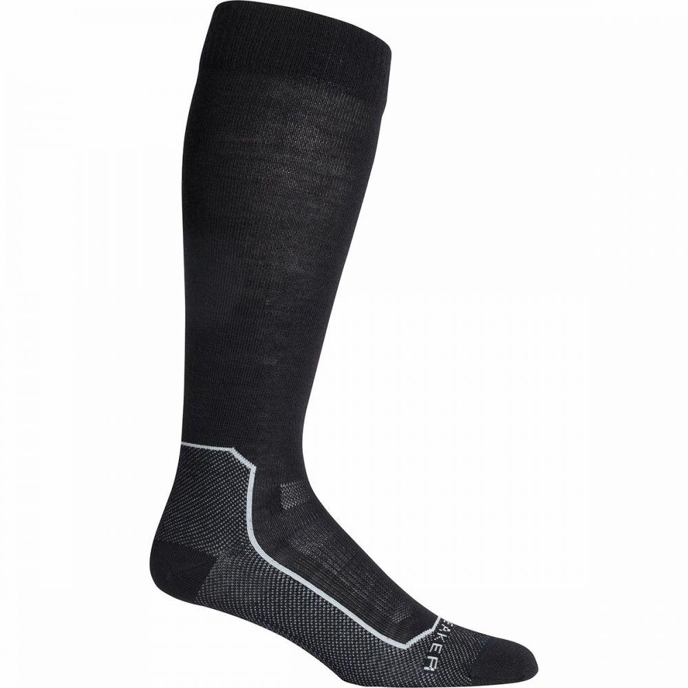 アイスブレーカー Icebreaker ユニセックス スキー・スノーボード ソックス【ski+ ultralight over the calf sock】Black