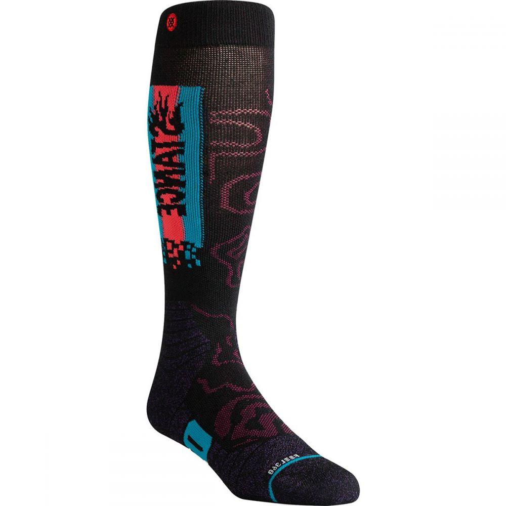 スタンス Stance ユニセックス スキー・スノーボード ソックス【sage kotsenburg 6999 merino snowboard sock】Black