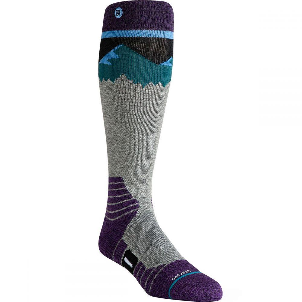 スタンス Stance ユニセックス スキー・スノーボード ソックス【ridge line merino wool ski sock】Blue