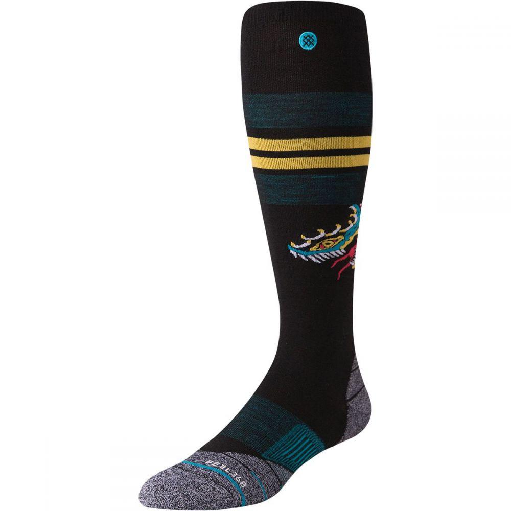 スタンス Stance ユニセックス スキー・スノーボード ソックス【ctrl alt dlt ultralight merino wool ski sock】Black