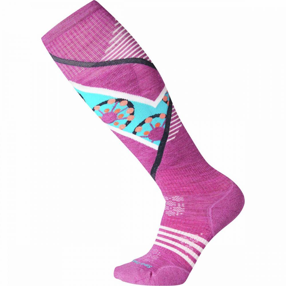 スマートウール Smartwool レディース スキー・スノーボード ソックス【phd ski light elite pattern sock】Meadow Mauve