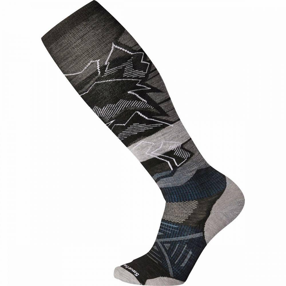 スマートウール Smartwool ユニセックス スキー・スノーボード ソックス【phd ski light elite pattern sock】Black