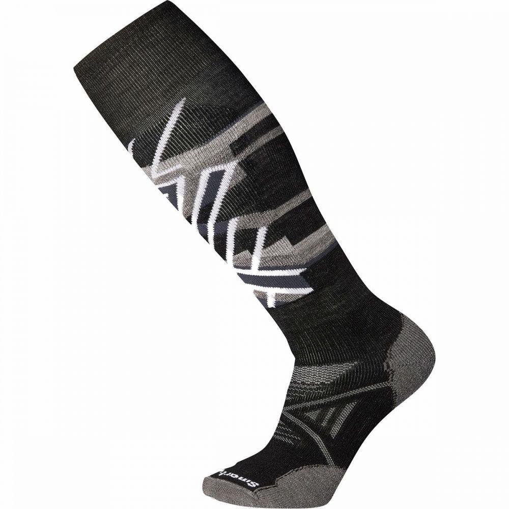スマートウール Smartwool ユニセックス スキー・スノーボード ソックス【phd ski medium pattern sock】Black