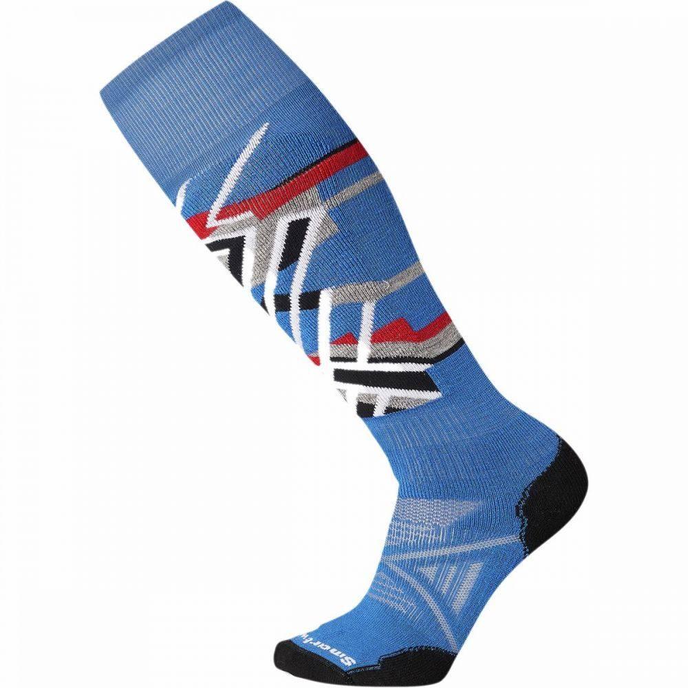 スマートウール Smartwool ユニセックス スキー・スノーボード ソックス【phd ski medium pattern sock】Bright Blue