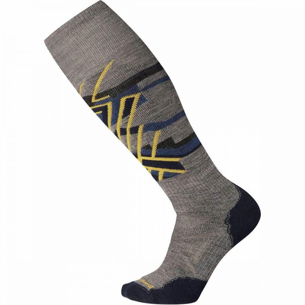スマートウール Smartwool ユニセックス スキー・スノーボード ソックス【phd ski medium pattern sock】Medium Gray