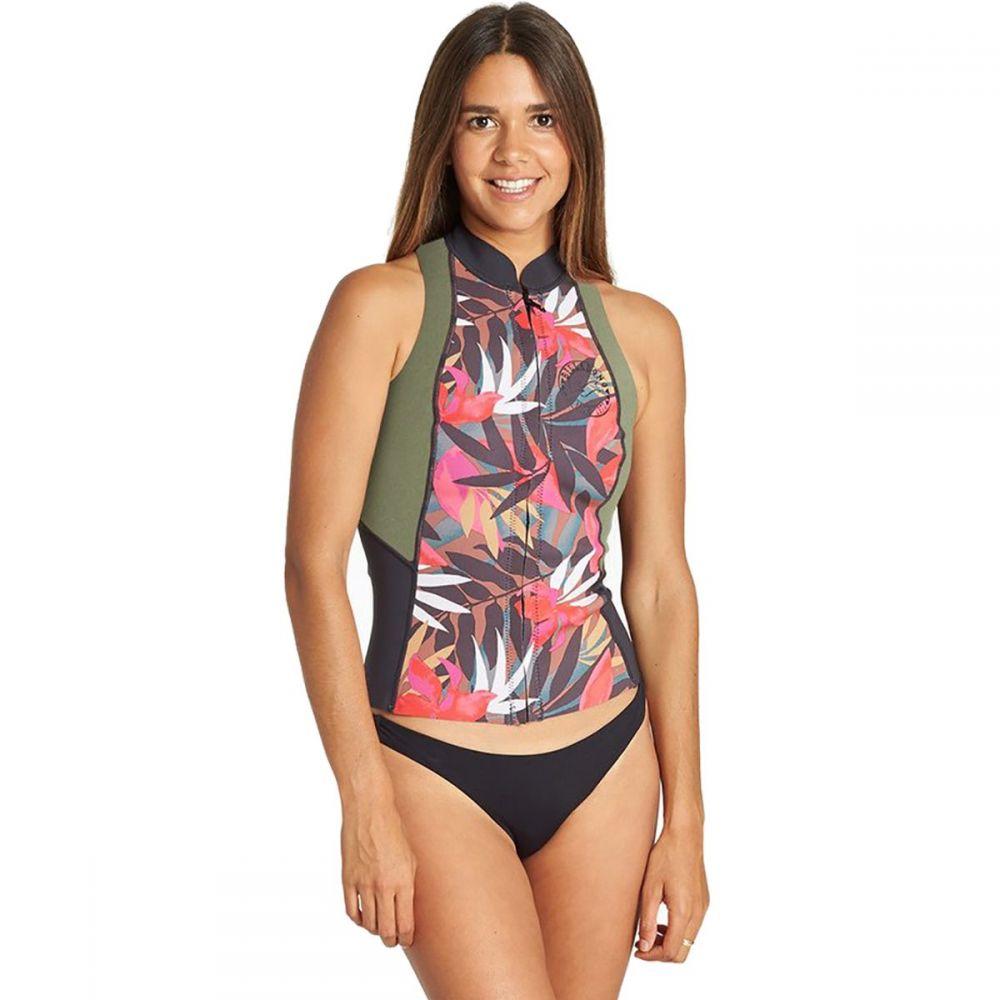 ビラボン Billabong レディース ウェットスーツ 水着・ビーチウェア【salty daze wetsuit vest】Tropical